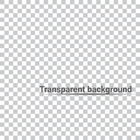 Transparent vector background. Blank for isolated object