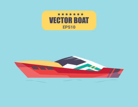 Ships at sea, shipping boats, ocean transport vector