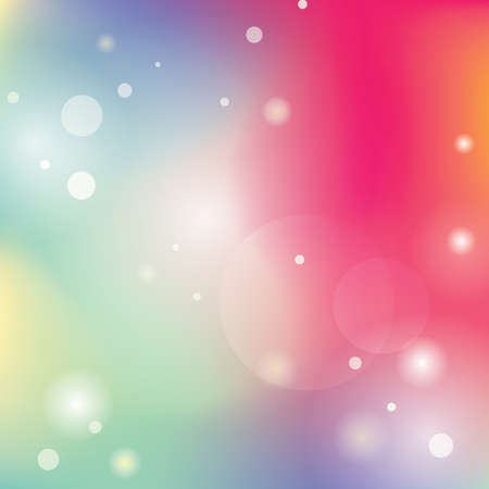 Airy blurred gradient mesh background. Art colorful smooth banner template. Easy editable soft colored vector illustration. New abstract modern screen image pattern picture Иллюстрация