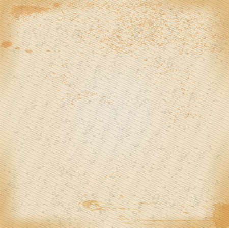 Yellowed paper ancient texture background. Blank with grunge effect illustration Reklamní fotografie