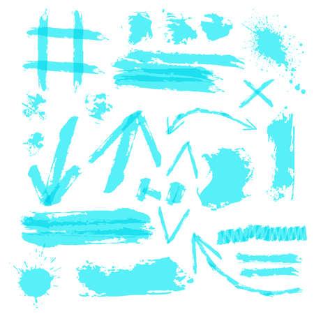 Highlighter Grunge Design Symbol Collection Jpeg Illustration
