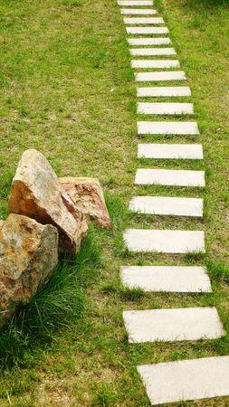 flagging: Intermittent flagging grass