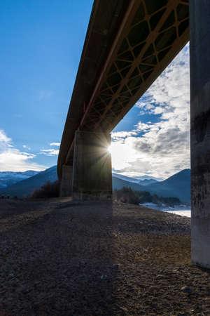 silt: Under the bridge