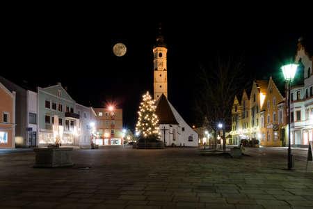 Full Moon at Christmas 2015