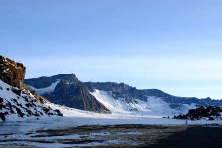 Changbai Mountain located at China northeast photo