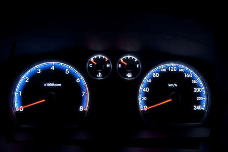 car instrument panel  Stock Photo - 9010363