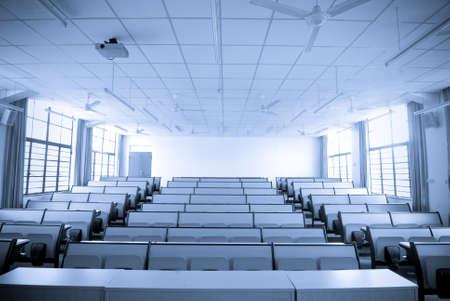 blank classroom