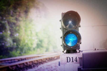 railway traffic lights Stock Photo - 11509243