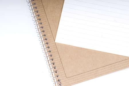 exercise book: office supplies  Stock Photo