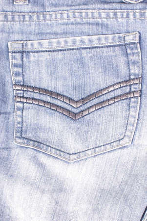 jeans pocket in close up Stock Photo - 11835563