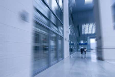 buliding: move in buliding Corridor Stock Photo