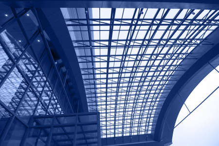 ceiling of office station photo