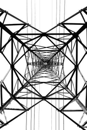 metal electricity pylons