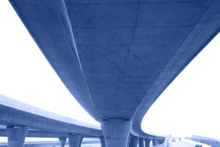 express lane: crossing highway