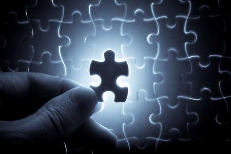 puzzle piece  Standard-Bild