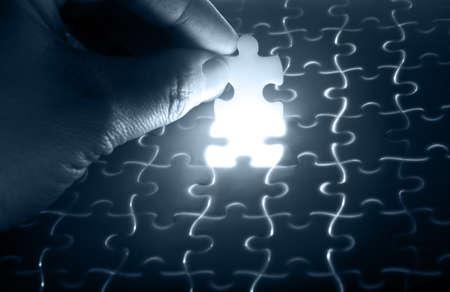 puzzle piece  Stock Photo - 13036497