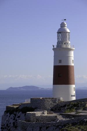 Phare dans un c�t� du d�troit de Gibraltar de %SLE