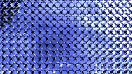 Rendant l'ordinateur d'un fond en nid d'abeille structure abstraite