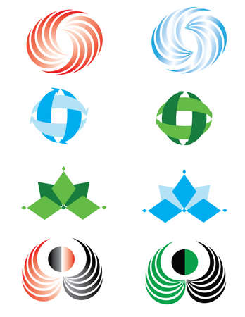 Vector to the logo, business cards. Icons. Stock Vector - 5431766