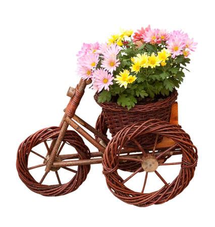 corazones: Decorative vase with flowers