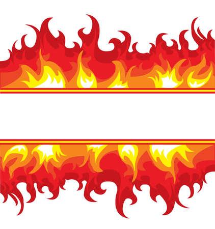 blaze: image of a burning fire.  Illustration
