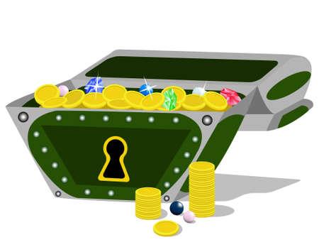 booty pirate: Treasure Chest.