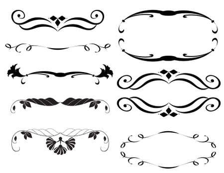 design elements Ilustração