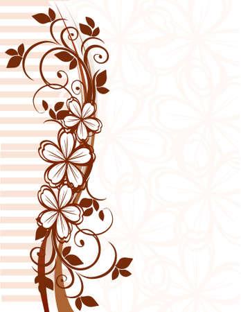 Floral Vector decor  Illustration