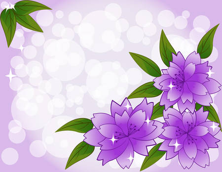 Vector flowers Stock Vector - 8859663