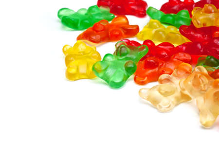 Background of gummi bears Stock Photo - 8980462