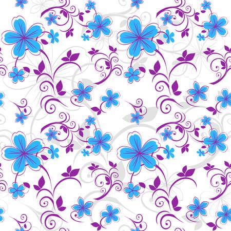 pastel colours: Patr�n floral transparente en colores pastel.