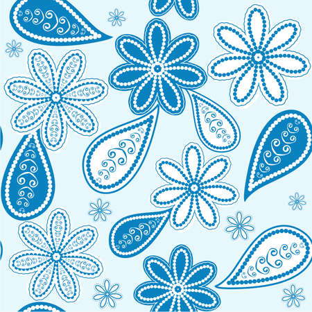 Seamless floral pattern Stock Vector - 9455570