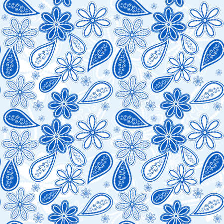 Seamless floral pattern  Stock Vector - 9455486