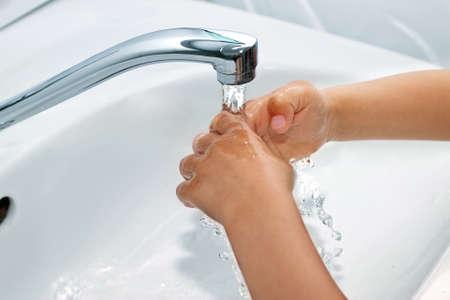 handwashing Stock Photo