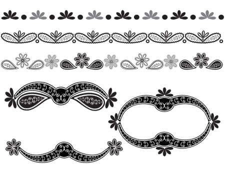 elementos de diseño de vectores Foto de archivo - 9616278
