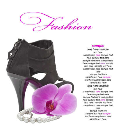 tacones negros: Alto tac�n Zapato negro
