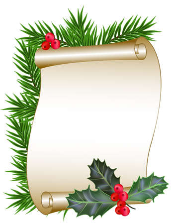 Christmas and New Year background. Stock Vector - 10894914