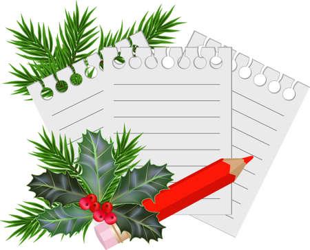 muerdago: Navidad y la tarjeta de A�o Nuevo