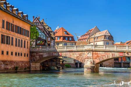 "Straßburg. Bezirk ""kleinen Frankreich"" Frantsiya.Europa."