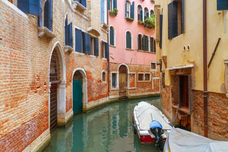Canal in Venice, Italy photo