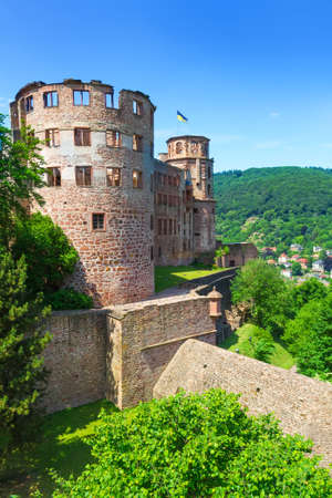 heidelberg: Castle Heidelberg in Germany, Europe