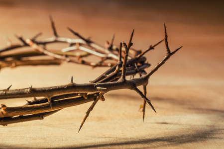 religion catolica: Corona de espinas. concepto cristiano del sufrimiento.