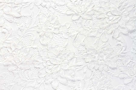Wedding white lace background Фото со стока - 56078347