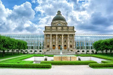 bavarian: Bavarian Staatskanzlei.  Munich. Germany