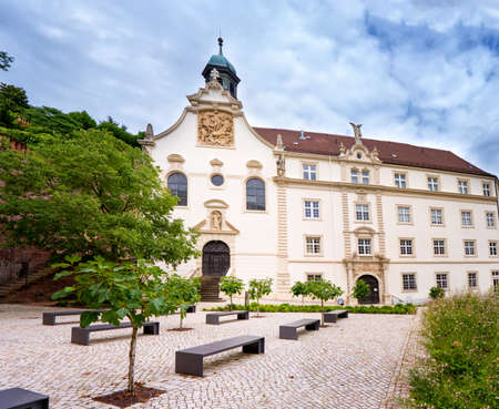 Building denominational private school convent school of the Holy grave Baden Baden. Germany