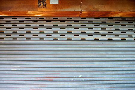 rolling garage door: Rolling steel door
