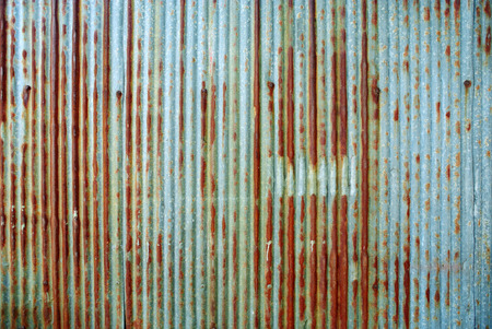 rusty metal: Rusted galvanized iron plate
