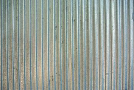 corrugated iron: Rusted galvanized iron plate