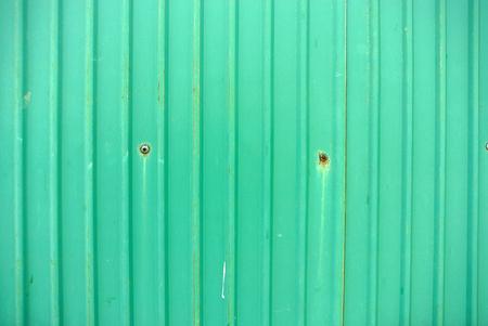 corrugated steel: Green galvanized iron plate