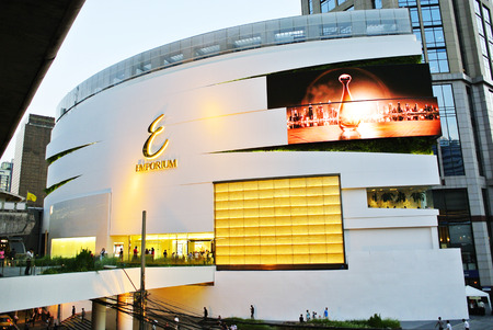 new look: BANGKOK - FEBRUARY 13, 2015 : New look renovated at The Emporium in Bangkok Thailand.